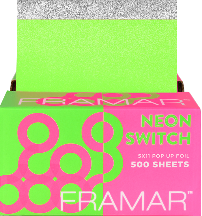 Framar 5x11 Pop Up Foil It Sheets Neon Switch