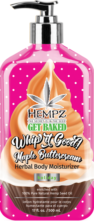 Hempz Whip it Good! Holiday Maple Buttercream Herbal Body Moisturizer
