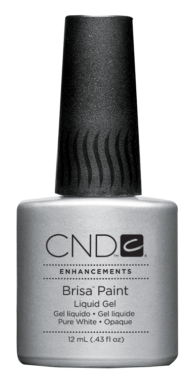 CND Brisa Paint Pure White: Opaque