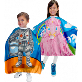 Betty Dain Princess & Astronaut Vinyl Kids Capes