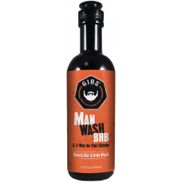 Gibs Man Wash Beard, Hair & Body