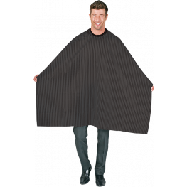Seersucker Barber Cape