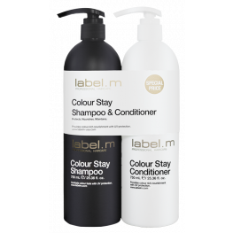 Label.M Colour Stay Shampoo & Conditioner Liters Duo