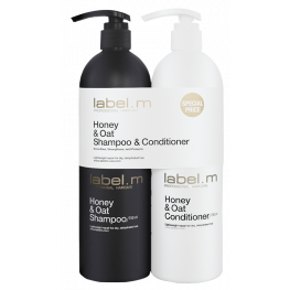 Label.M Honey & Oat Shampoo & Conditioner Duo
