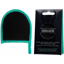 Dermasuri Face and Neck Exfoliator For Bearded Men
