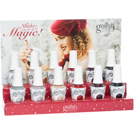 Gelish Shake Up The Magic Collection 12 Piece Display