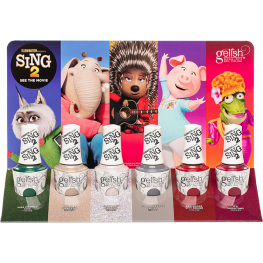 Gelish Sing 2 Collection 6 Piece Display