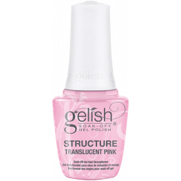 Gelish Brush On Structure Building Gel Translucent Pink