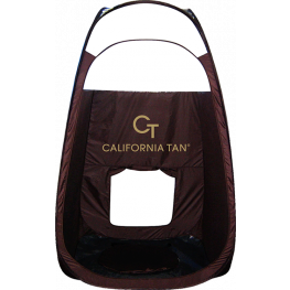 California Tan Pop Up Spray Enclosure