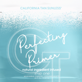 California Tan Perfecting Primer Towelette