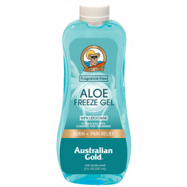 Australian Gold Aloe Freeze Gel with Lidocaine