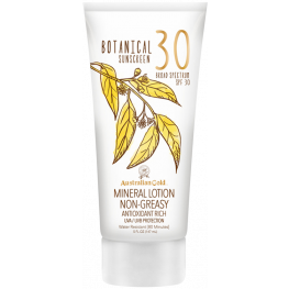 Australian Gold SPF Botanical Sunscreen Mineral Lotion