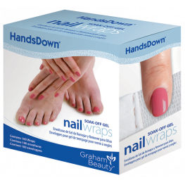 HandsDown Nail Wraps Individually Wrapped