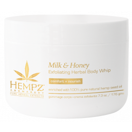 Hempz Milk & Honey Exfoliating Body Whip