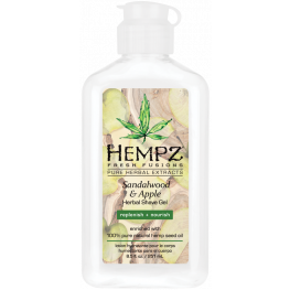 Hempz Sandalwood & Apple Shave Gel