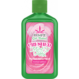 Hempz Crushed Minty Taffy Herbal Hand Wash