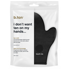 B.Tan I Don't Want Tan On My Hands Tan Mitt