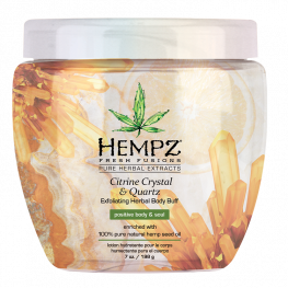 Hempz Citrine Crystal & Quartz Body Buff