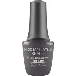 Morgan Taylor React No-Light Extended Wear Top Coat