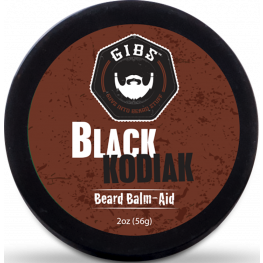 Gibs Black Kodiak Beard Balm Aid