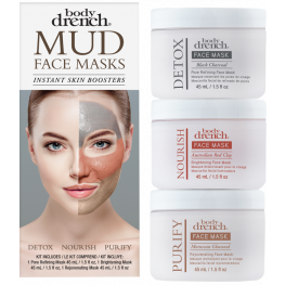 Body Drench Mud Mask 3 Piece Kit