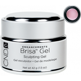 CND Brisa Sculpting Gel Warm Pink: Semi-Sheer