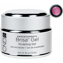 CND Brisa Sculpting Gel Cool Pink: Semi-Sheer