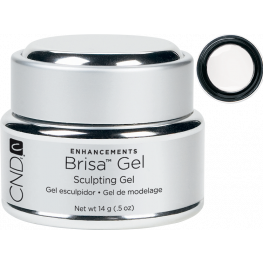 CND Brisa Sculpting Gel Pure White: Opaque