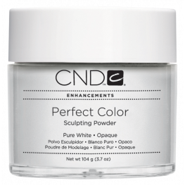 CND Perfect Color Sculpting Powder - Pure White: Opaque