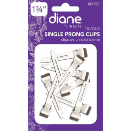 Diane Single Prong Clips 10 Pack