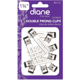 Diane Double Prong Clips 10 Pack