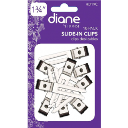 Diane Slide-In Double Prong Clips 10 Pack