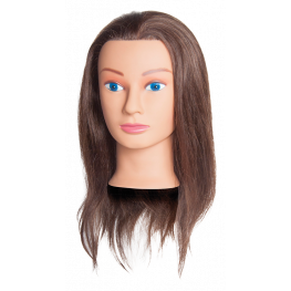 100% Human Hair Level 4 Brown Mannequin