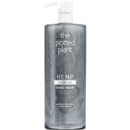 The Potted Plant Charcoal Body Wash
