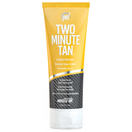 Muscle Up Two Minute Tan Sunless Bronzer