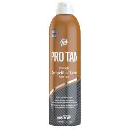 Muscle Up Pro Tan Overnight Competition Color Base Coat Aerosol Spray