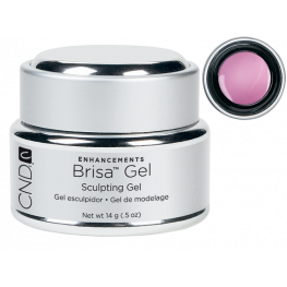 CND Brisa Sculpting Gel Cool Pink: Opaque