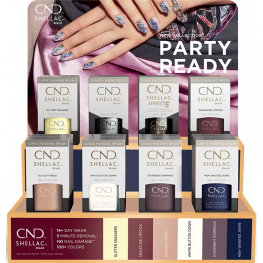 CND Shellac Party Ready Collection 12 Piece Pop Display