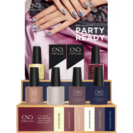 CND Vinylux Party Ready Collection 12 Piece Pop Display