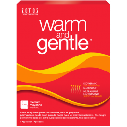 Zotos Warm & Gentle Extra Body Perm