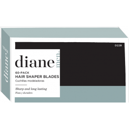 Diane Stainless Steel Polymer Coated Shaper Blades