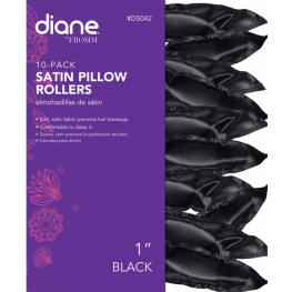 Diane Satin Pillow Rollers 1 Inch