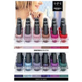OPI Nail Lacquer Downtown LA Collection 36 Piece Acrylic Display