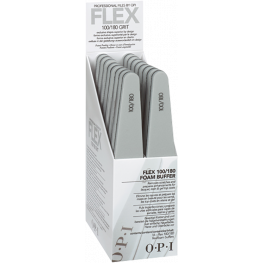 OPI Flex File 100/180 Grit Display