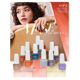 OPI GelColor Milan Collection 12 Piece Chipboard Display