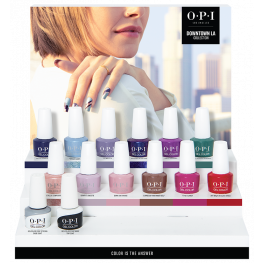 OPI GelColor Downtown LA Collection 14 Piece Chipboard Display