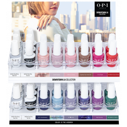 OPI GelColor Downtown LA Collection 36 Piece Acrylic Display