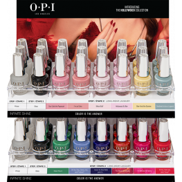 OPI Infinite Shine Hollywood Collection 48 Piece Acrylic Display